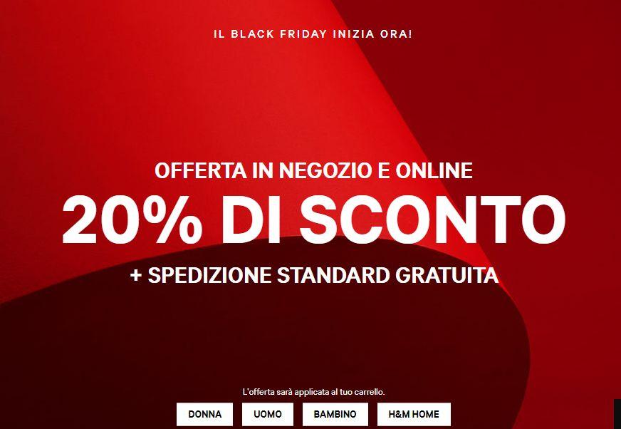 6b96263e58ac Black Friday 2018 H M abbigliamento  offerte e sconti - StudentVille