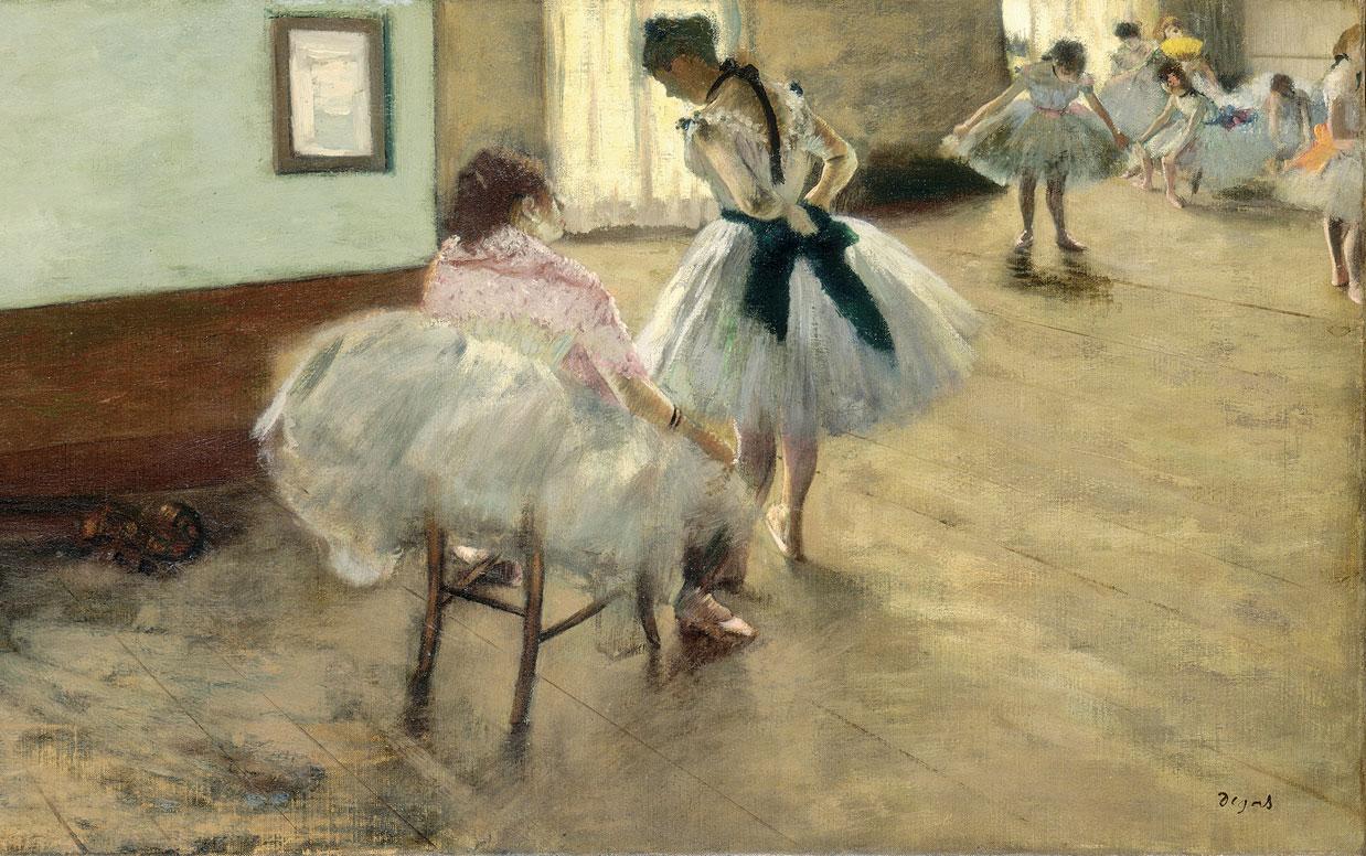 Sala Da Biliardo Degas : Ballerine di edgar degas iconografia e descrizione studentville