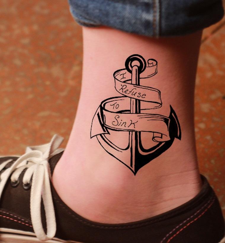 Tatuaggio Ancora: significato, origine e immagini ...