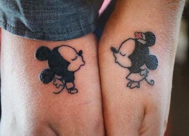 Popolare Tatuaggi di coppia: foto per tattoo complementari - StudentVille RB95
