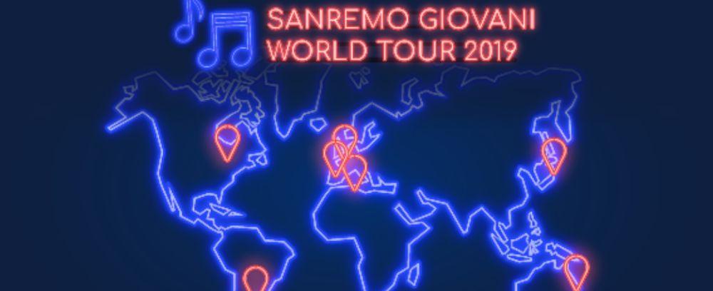 Sanremo Giovani World Tour a Roma: data, cantanti, dichiarazioni
