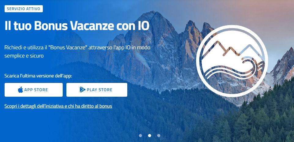 App Bonus Vacanze: download, installazione e guida all'uso