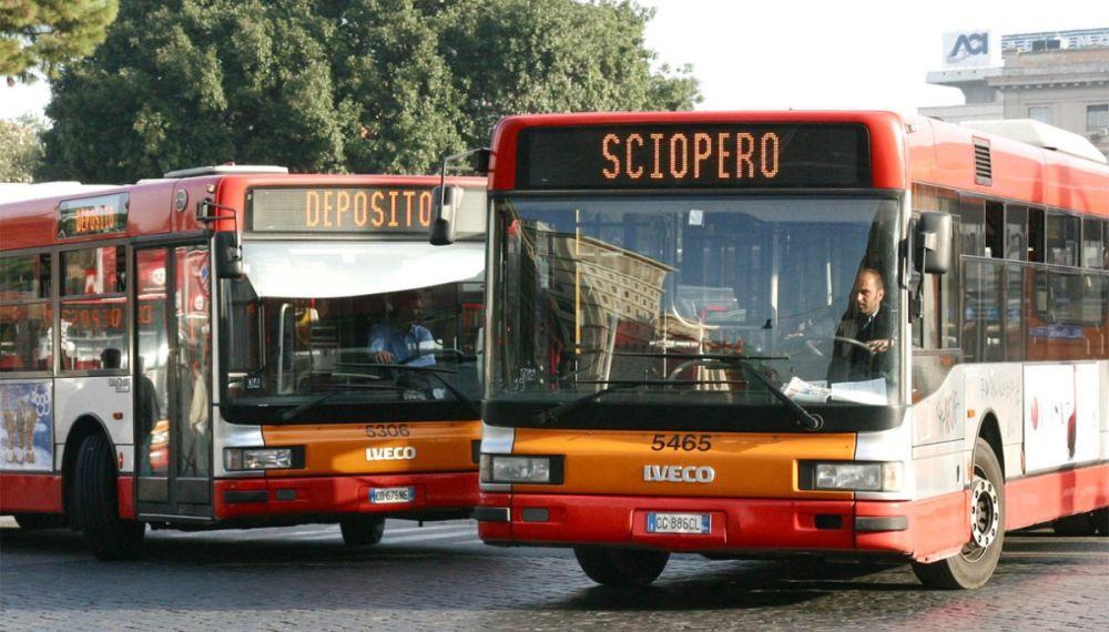 Sciopero autobus venerdì 25 settembre 2020: orari e fasce garantite