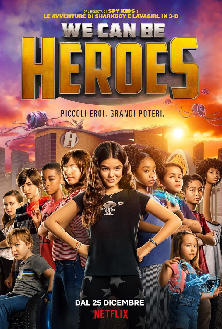 We can be Heroes su Netflix: uscita, trama e cast