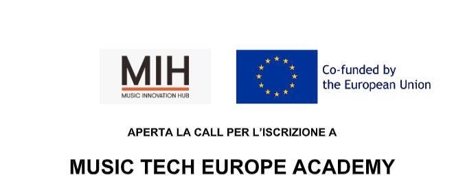Music Tech Europe Academy: iscrizioni e mentors