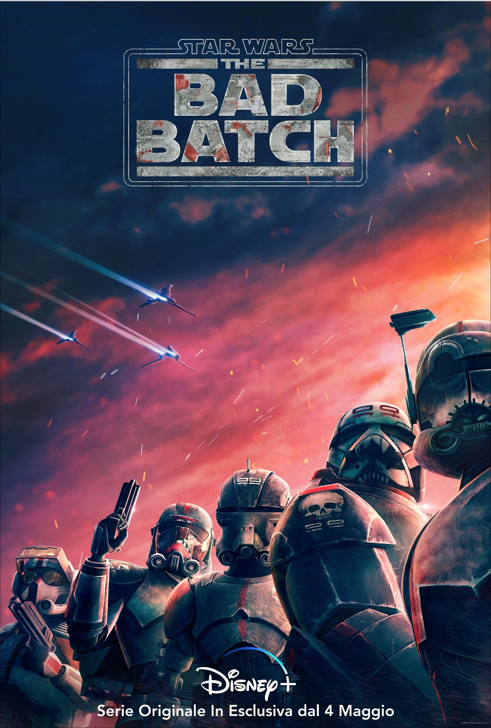 Star Wars: The Bad Batch: uscita, trama e personaggi