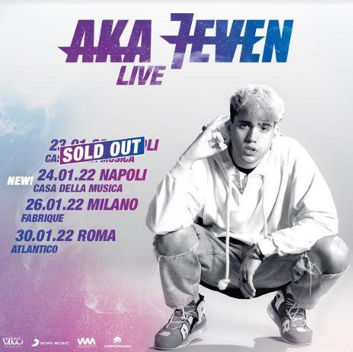 Concerti Aka 7even 2022: date, biglietti e come arrivare