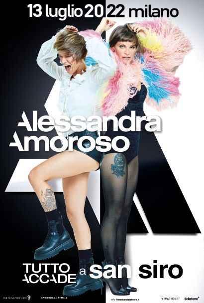 Alessandra Amoroso a San Siro: data, biglietti e come arrivare