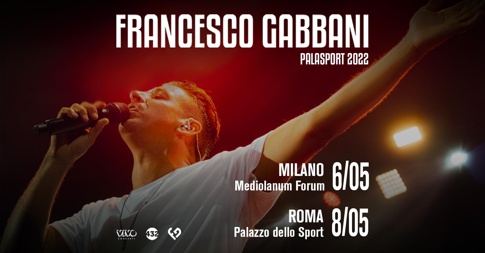 Concerti Francesco Gabbani nel 2022: date, biglietti e come arrivare