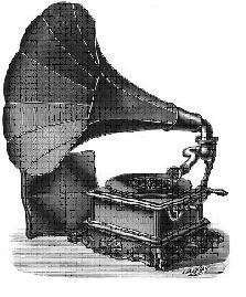 Grammofono antico
