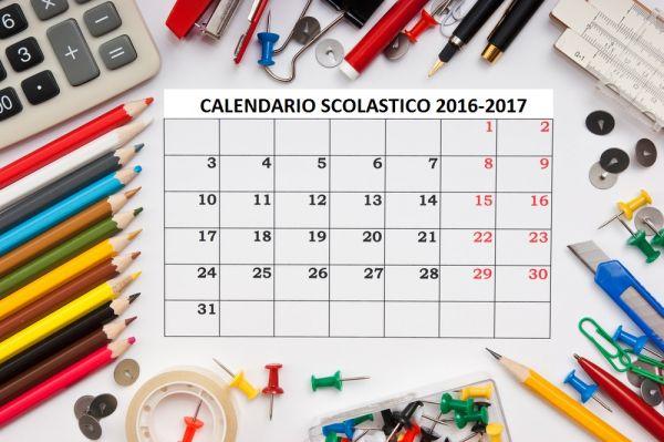 Calendario scolartico 2016-17