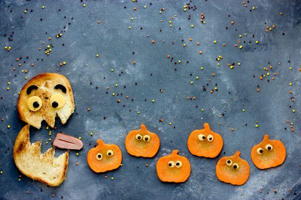 ricette halloween panini