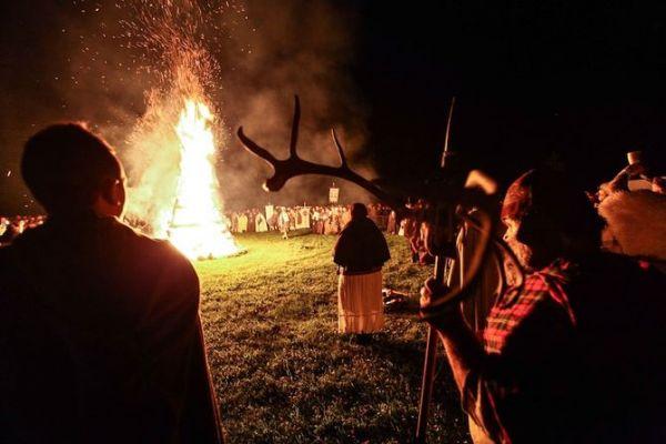 Origini di Halloween: Samhain