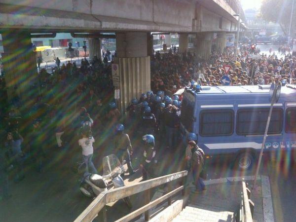 studenti in piazza 03/11/2011