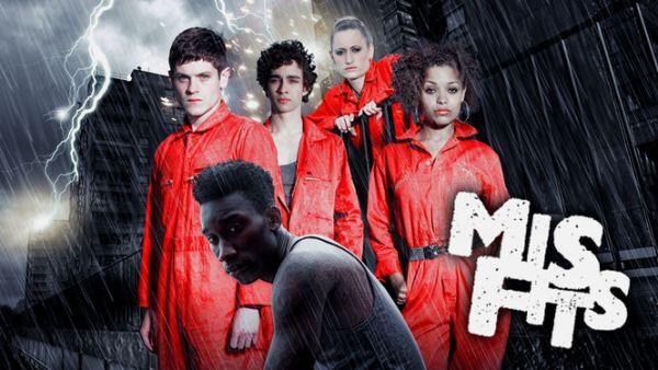 Serie TV complete da vedere su Netflix: misfits