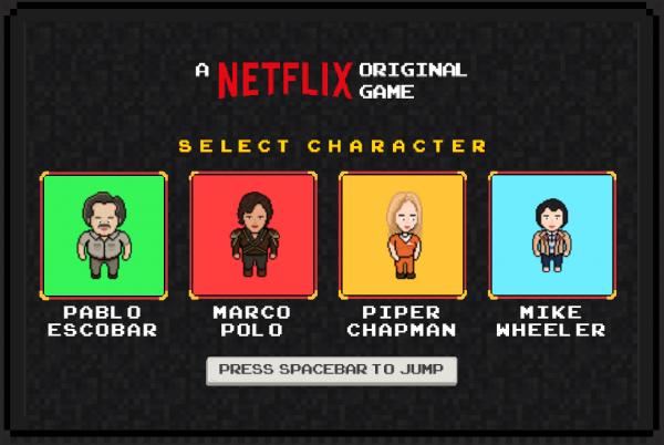 netflix videogiochi serie tv