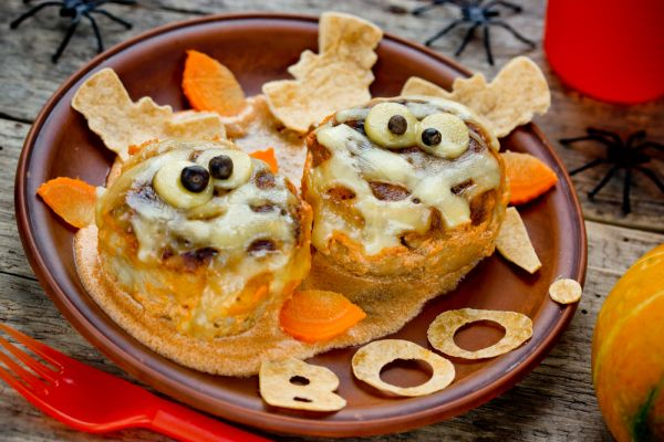 ricette halloween vol-au-vent mummia