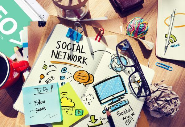 tema sui social network