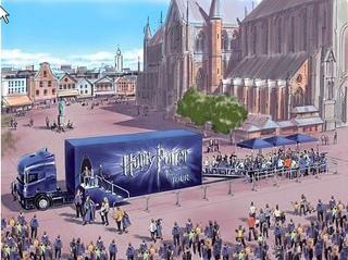 Harry Potter Truck Milano