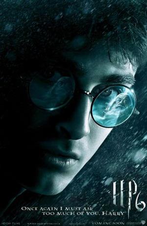 Harry Potter E Il Principe Mezzosangue Poster Locandina