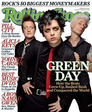 Green Day Rolling Stones