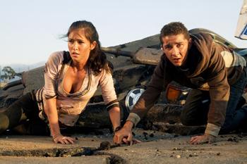 Shia LaBoeuf con Megan Fox