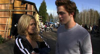 Nikki Reed e Robert Pattinson New Moon