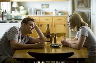 Leo e Kate in una scena del film