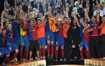 Il Barcellona campione d'Europa