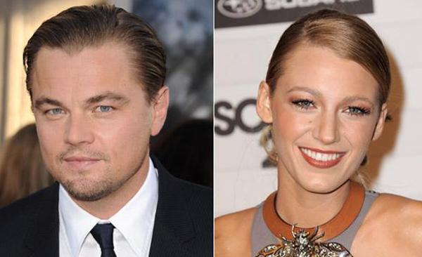 Leonardo Di Caprio e Blake Lively