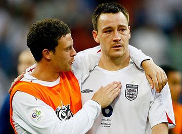 Bridge e Terry ai tempi in cui erano ancora grandi amici...