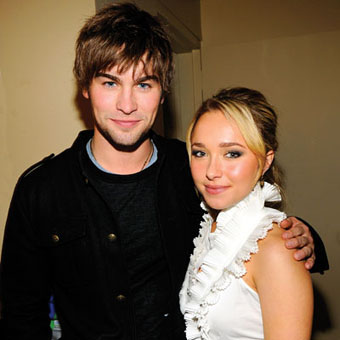 Chace Crawford con Hayden Panettiere