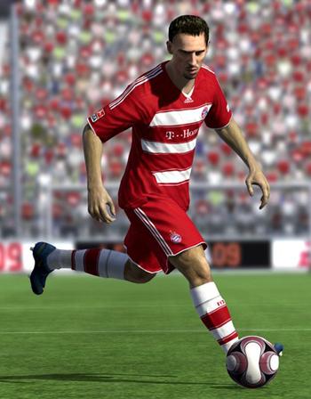 Il francese Ribery, mezzapunta del Bayern Monaco