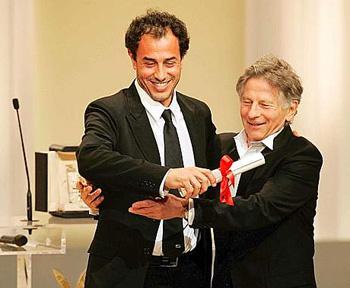 Garrone premiato da Roman Polanski