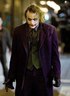 L'attore nei panni di Joker