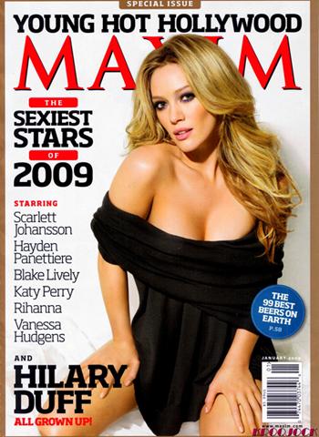 La cover di Maxim