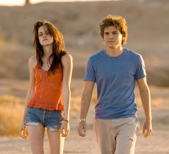 "Con Kristen Stewart in ""Into The Wild"""