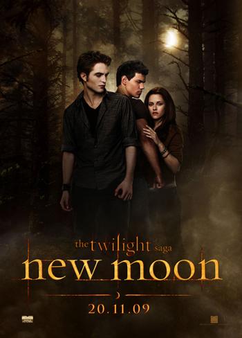 The Twilight Saga: New Moon Poster Locandina