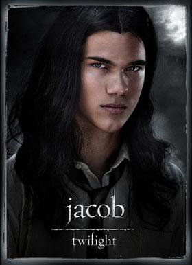 Taylor Lautner alias Jacob Black