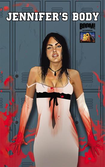 Megan Fox nel fumetto tratto da Jennifer's Body