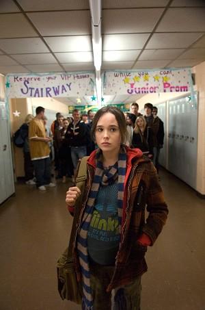 "Ellen Page, teenager incinta nel film ""Juno"""