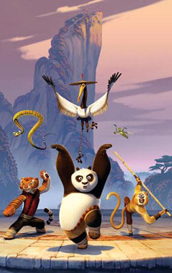 "I protagonisti di ""Kung Fu Panda"""