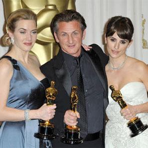 Kate Winslet, Sean Penn e Penelope Cruz