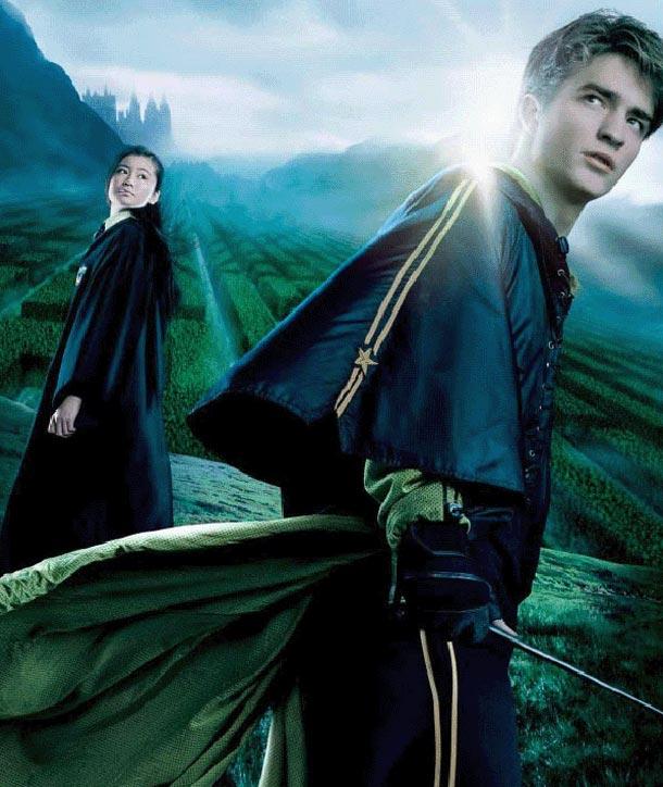 Cedric Diggory e Cho Chang