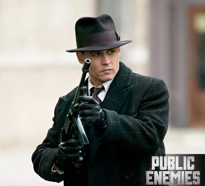John Dillinger Jhonny Depp