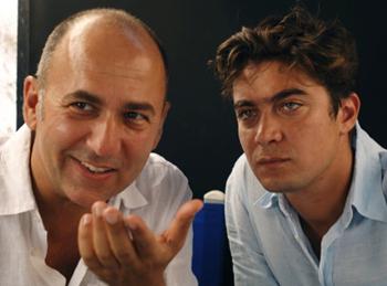 Scamarcio col regista Ferzan Ozpetek