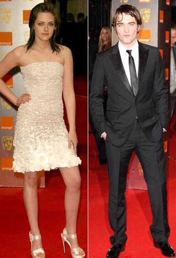 Kristen Stewart e Robert Pattinson ai Bafta
