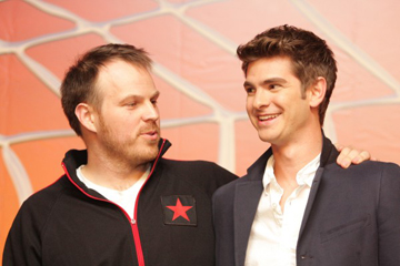 Marc Webb e Andrew Garfield